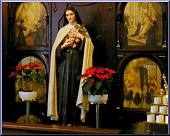 Click Here for a larger picture of The Shrine to St. Therese the Little Flower